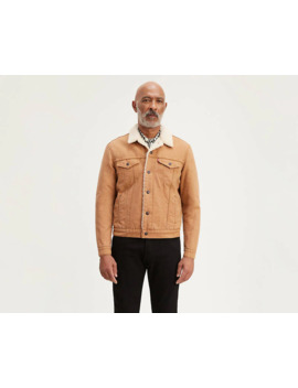 canvas-sherpa-trucker-jacket by levis