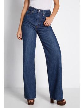 ribcage-wide-leg-jeans by levis-premium