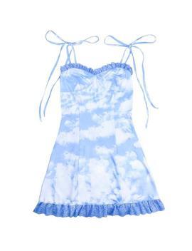 sky-mini-dress by boogzel-apparel