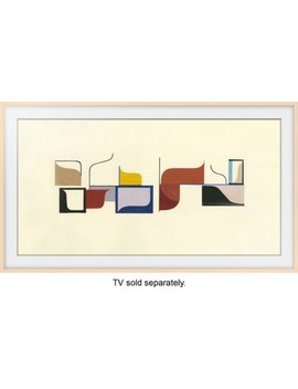 "49""-the-frame-customizable-bezel---beige by samsung"
