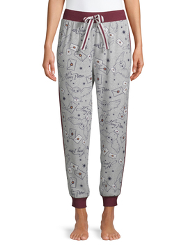 harry-potter-womens-and-womens-plus-jogger-pajama-pant by harry-potter
