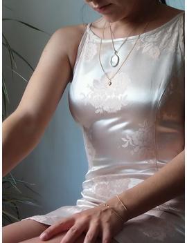 satin-pink-dress-_jacquard-satin-pink-dress-_-cdc---caren-desirée-company-blush-dress by etsy