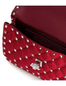 valentino-garavani-rockstud-spike-small-satin-shoulder-bag by valentino-garavani