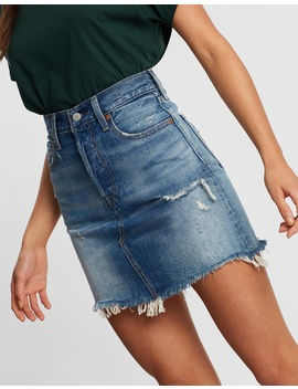 high-rise-deconstructed-iconic-bf-skirt by levis
