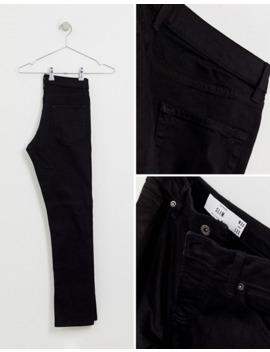 topman-slim-jeans-in-black by topman