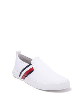 junna-painted-stripe-slip-on-sneaker by tommy-hilfiger