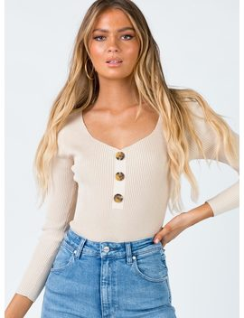 amba-bodysuit-beige by princess-polly