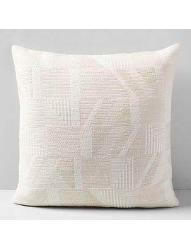 cozy-jacquard-pillow-cover by west-elm