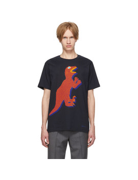 navy-dino-regular-fit-t-shirt by ps-by-paul-smith