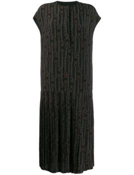 printed-gancini-dress by salvatore-ferragamo