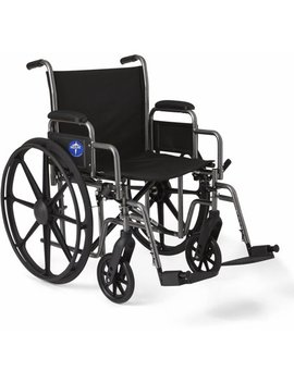 medline-k1-basic-extra-wide-wheelchair-with-swing-away-footrests by medline