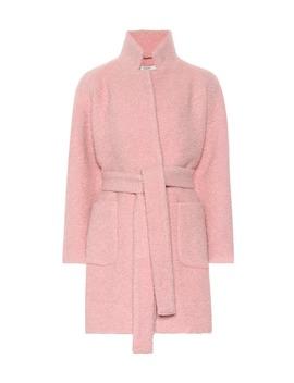 wool-blend-coat by ganni