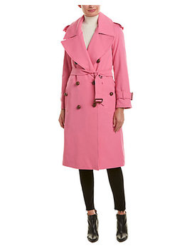 burberry-gabardine-wool-trench-coat by burberry