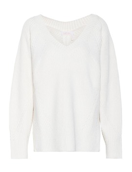 ribbed-knit-wool-blend-sweater by see-by-chloé