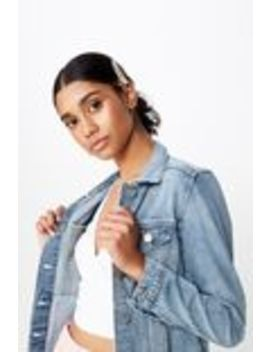 casual-fitted-denim-jacket by supre