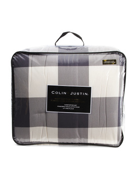 buffalo-plaid-flannel-comforter-set by colin+justin
