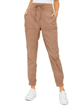 pull-on-drop-crotch-jogger-pants by suzy-shier