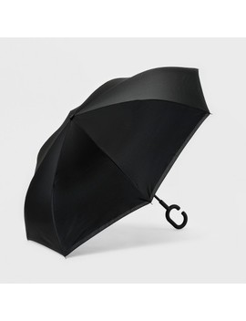 shedrain-reversible-womens-unbelievabrella-stick-umbrella by shedrain