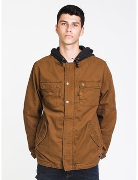 Mens Yukon Canvas Jacket by Kolby Blackkolby Black