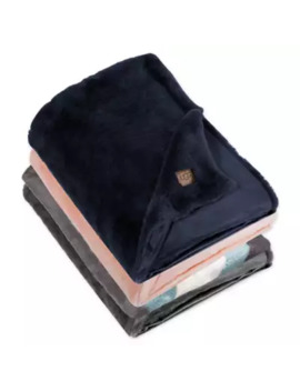 ugg-keily-faux-fur-throw-blanket-in-charcoal by bed-bath-and-beyond