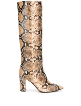 pointed-snakeskin-effect-boots by the-seller
