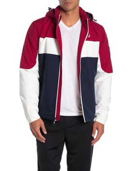 colorblock-water-&-wind-resistant-hooded-jacket by nautica