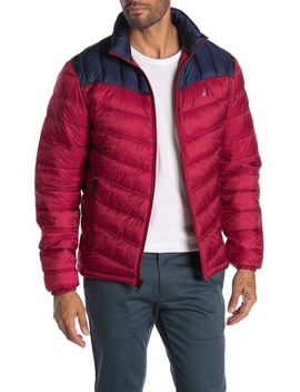 colorblock-quilted-insulated-lightweight-jacket by nautica
