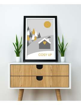 winter-theme-nordic-art-print-cute-quote-print--grey-and-mustard-print-modern-home-wall-art-unique-housewarming-gift-hygge-style-art-print by etsy