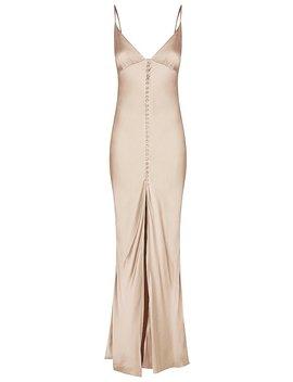 Joan Bias Slip Dress   Gold by Shona Joy