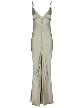Joan Bias Slip Dress   Sage by Shona Joy