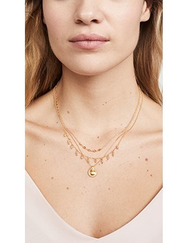 yellow-gold-necklace by chan-luu