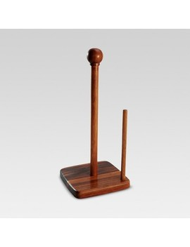 acacia-paper-towel-holder---threshold by shop-this-collection
