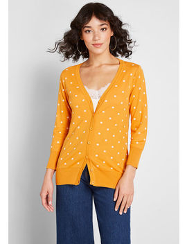 charter-school-polka-dot-cardigan by modcloth