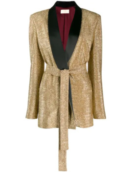 glitter-detail-blazer by sara-battaglia