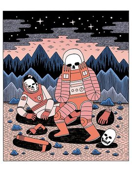 death-in-space-poster by jackteagle