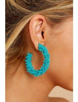 under-the-spotlight-turquoise-beaded-hoop-earrings by joia