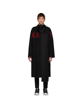 black-wool-extended-collar-coat by valentino