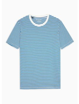 selected-homme-blue-perfect-stripe-t-shirt by topman