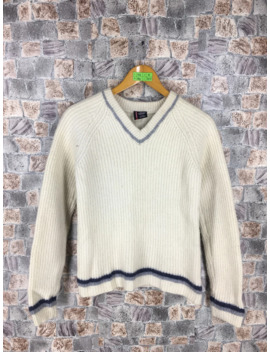 polo-jeans-company-sweater-small-boy-vintage-ralph-lauren-white-jumper-sweatshirt-size-s by polo-ralph-lauren  ×
