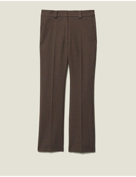 pantalon-À-carreaux by sandro-paris