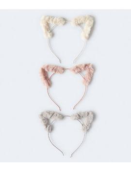 cat-ears-headband-3-pack by aeropostale