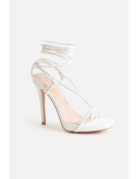 jamilla-lace-up-stiletto-heels-in-white-vegan-leather by luxe-to-kill