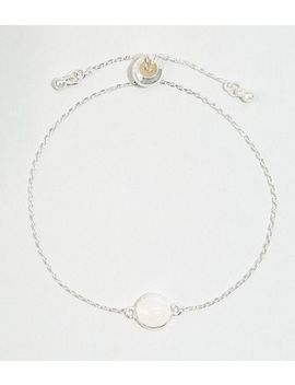 affinity-silver-plated-moonstone-toggle-bracelet by new-look