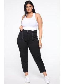 changin-minds-belted-pants---black by fashion-nova