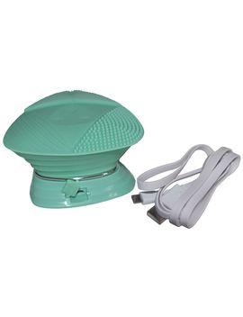perie-pentru-demachiere-,curatare-faciala-a-tenului-si-masaj-,-burete-de-silicon-,rezistent-la-apa-,-reincarcabil-15-viteze-cu-8000-vibratii-sonice_minut-upgrade-brush-verde by upgrade-skin