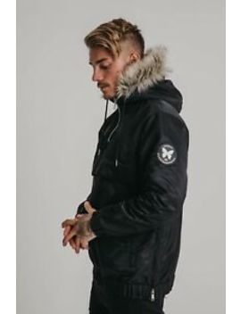mens-good-for-nothing-compass-black-parka-rrp-£6999 by ebay-seller