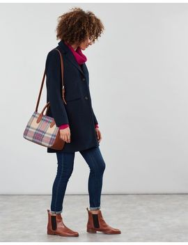 Thernwell Tweed Grab Purse by Joules