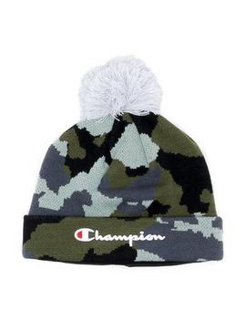 champion-script-knit-pom-camo_green by champion