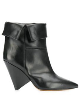 luliana-folded-ankle-boots by isabel-marant