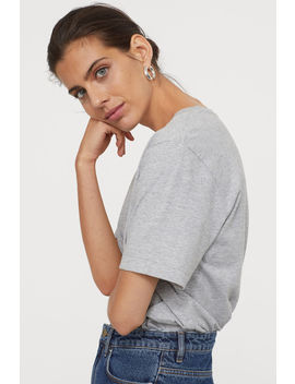 t-shirt-in-cotone-pima by h&m